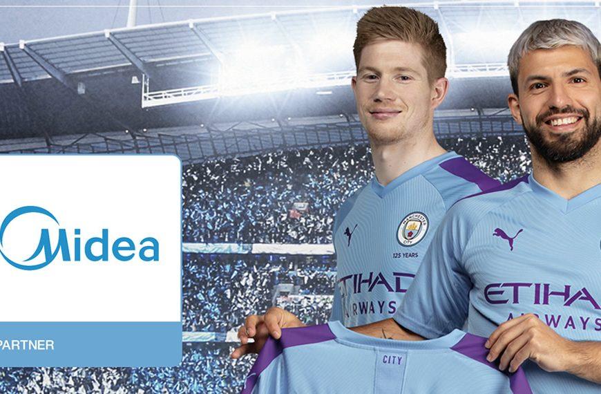 Manchester City FC objavio globalno partnerstvo s Midea Grupom